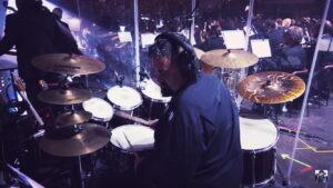 Marco Maggiore on drums